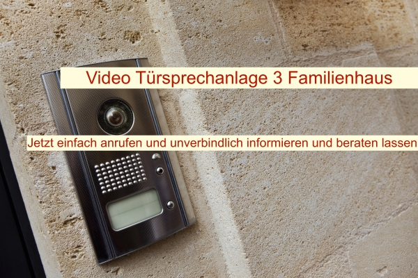 Video Türsprechanlage 3 Familienhaus Berlin